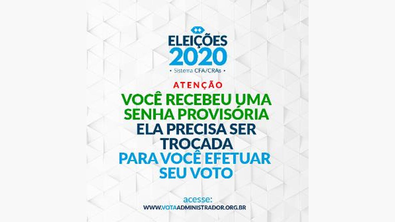 CFA envia senhas para votação nas eleições do Sistema CFA/CRAs