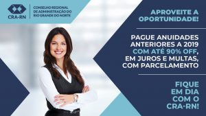 CRA-RN lança conciliação para anuidades anteriores a 2019