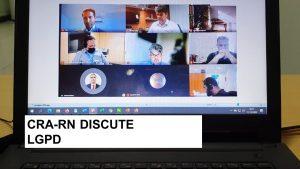 CRA-RN participa de reunião virtual sobre LGPD