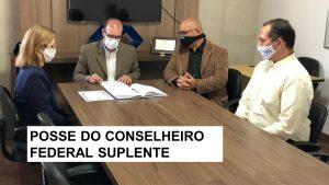Administrador Sandro Pachêco toma posse como Conselheiro Federal Suplente