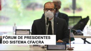 Presidente do CRA-RN participa de reunião do Sistema CFA/CRAs, em Brasília