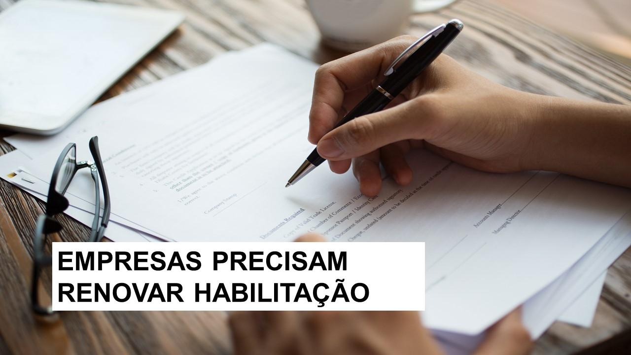 CRA-RN alerta empresas para renovação da habilitação