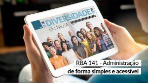 RBA 141 – Pronta para leitura e para mudar sua visão de mundo
