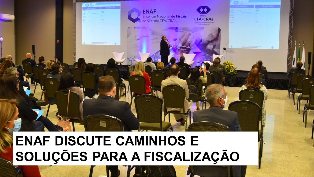CRA-RN participa do Encontro Nacional de Fiscais do Sistema CFA/CRAs 2021