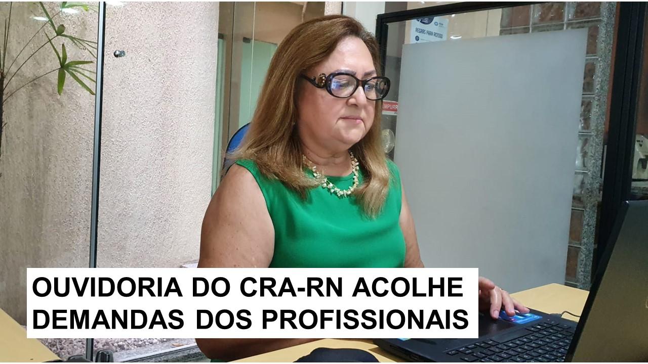 Conheça a Ouvidora do CRA-RN, Adrina de Souza