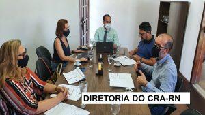 DIREX de setembro define ações do CRA-RN