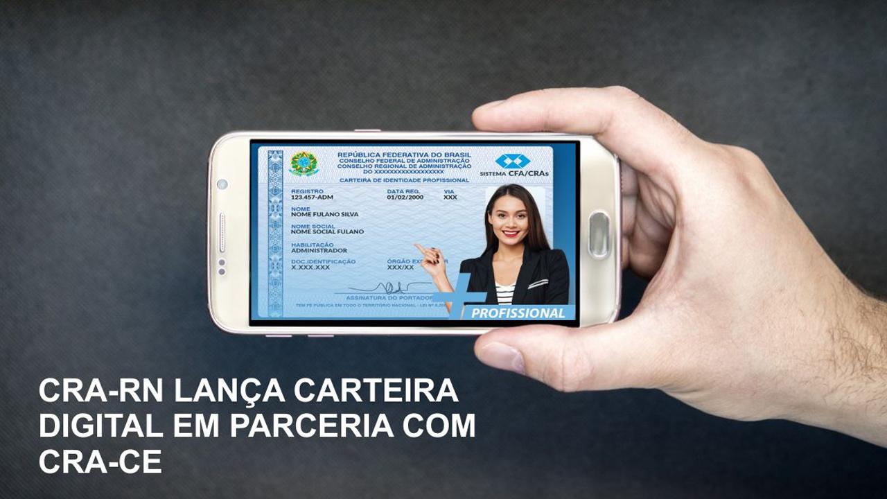 CRA-RN firma convênio com CRA-CE para emissão da carteira digital