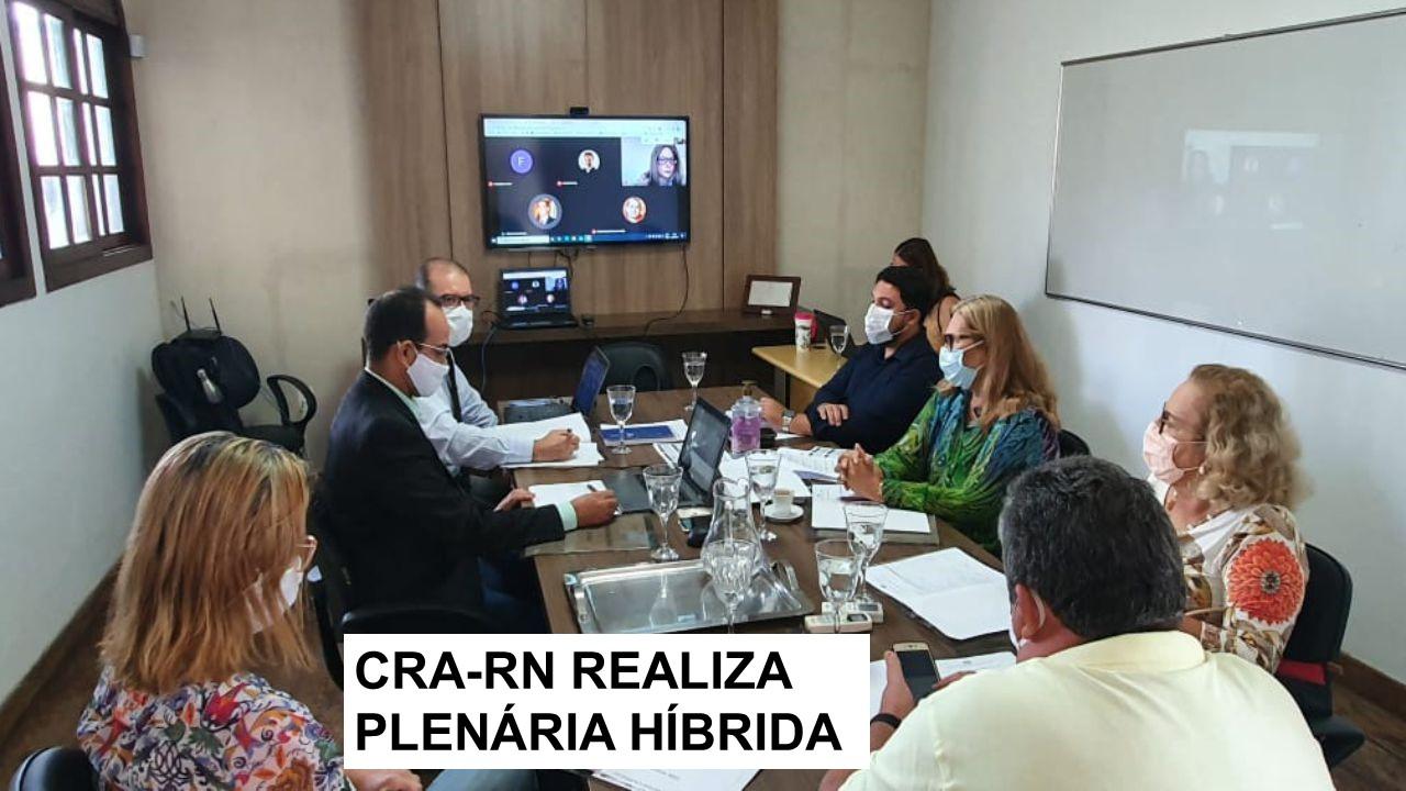 CRA-RN realiza primeira plenária de 2021