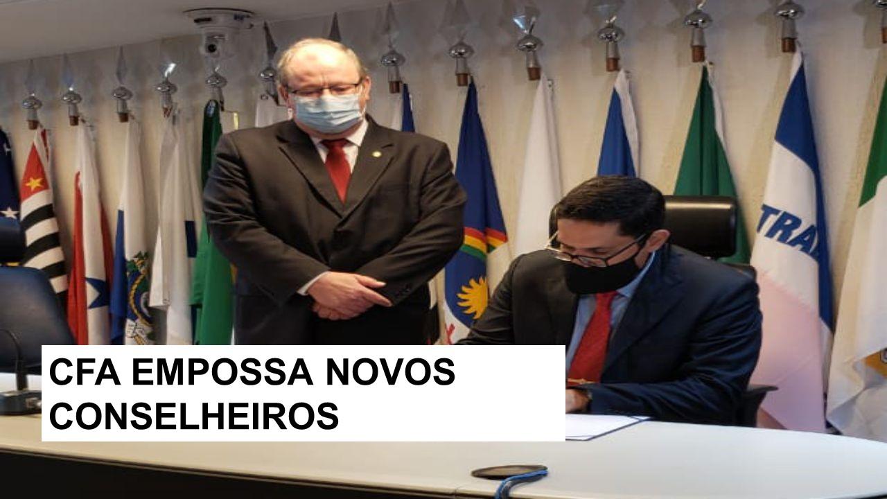 Conselheiro Federal Júlio Rezende toma posse no CFA