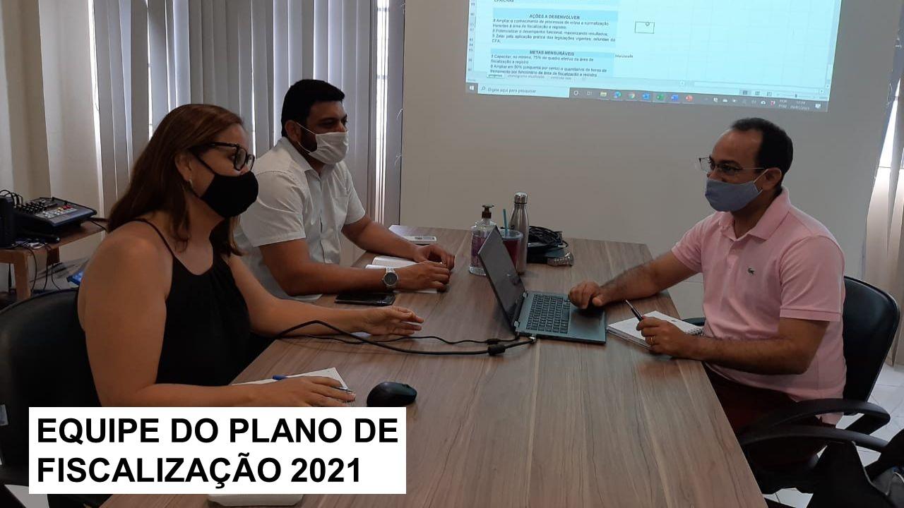 Plenária do CRA-RN aprova Plano de Fiscalização de 2021