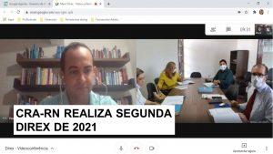 Diretoria do CRA-RN discute ações para 2021