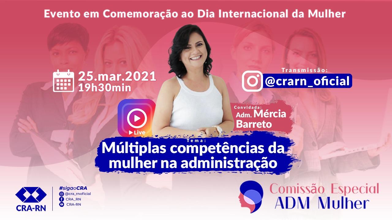 CRA-RN debate as múltiplas competências da mulher na administração