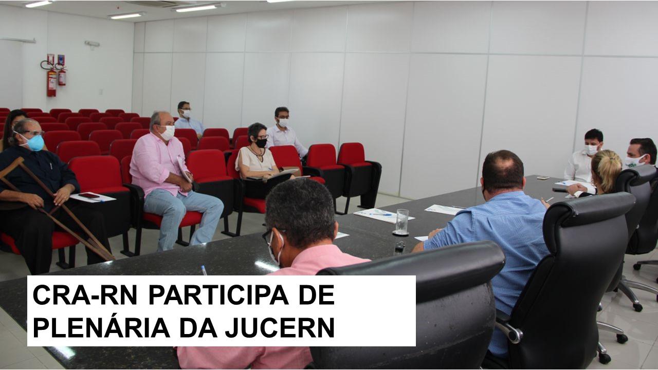 Representante do CRA-RN participa de reunião da Jucern