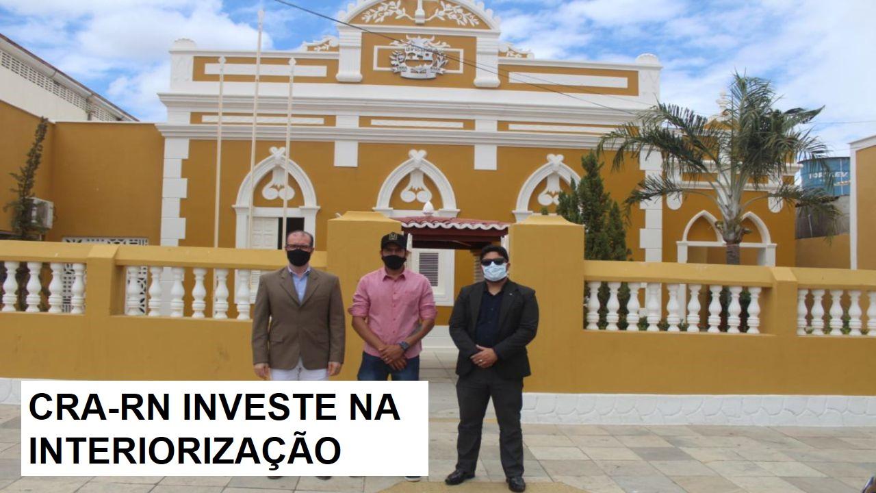 CRA-RN empossa novos representantes em Caraúbas e Assu