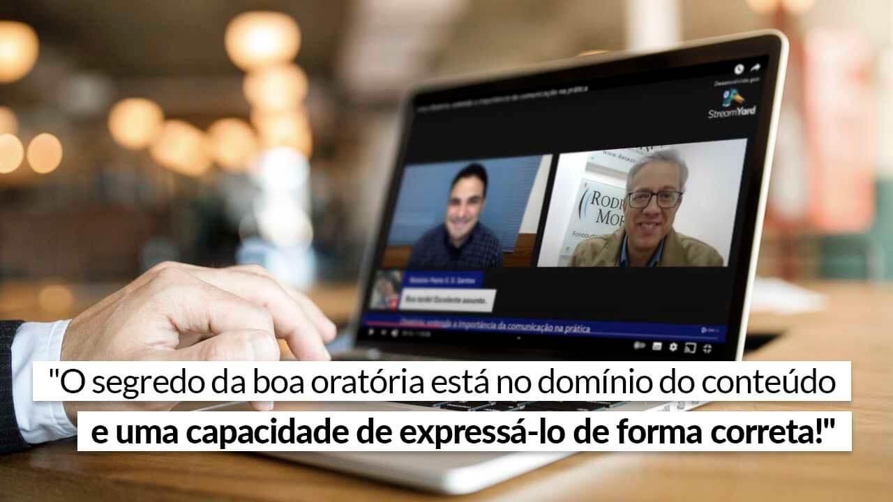 Live do CFAPlay mostra a importância da comunicação na prática