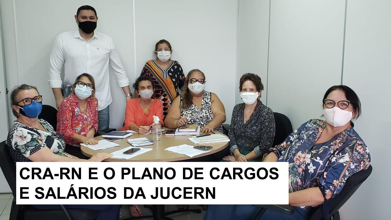 CRA-RN participa da elaboração do PCS da Jucern